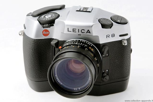 Leica R8 Vintage Cameras Collection By Sylvain Halgand