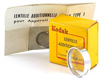 Kodak Lentille additionnelle type 1