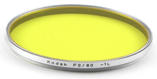 Kodak Filtre jaune FII/60 -1L