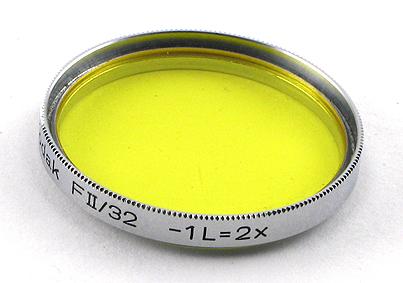Kodak Filtre jaune FII/32 -1L = 2x