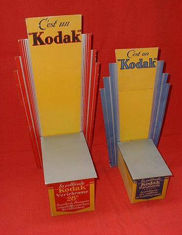 Kodak Présentoirs Vérichrome et Panatomic