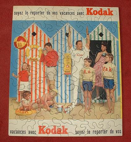 Kodak Puzzle des années 60