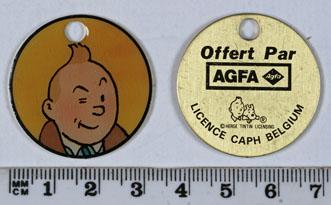 Agfa Médaillon Tintin
