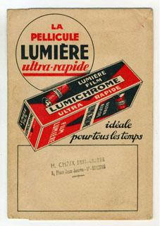 Lumière Pochette de livraison des travaux photographiques