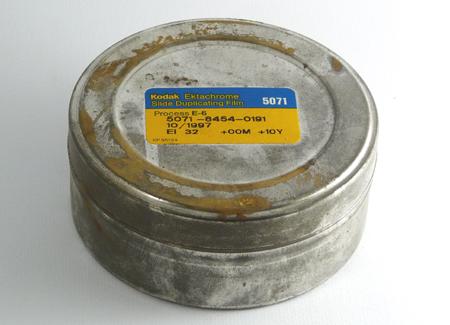 Kodak Ektachrome au mètre