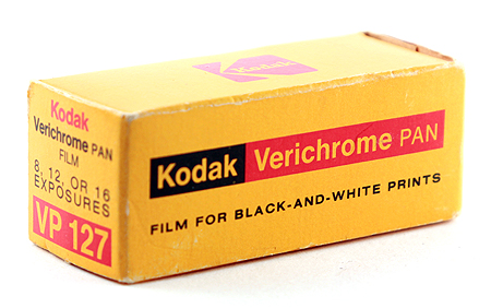Kodak Verichrom Pan VP 127