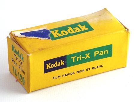 Kodak Tri-X Pan TX 120
