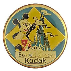 Kodak Pin's Kodak / Euro Disney