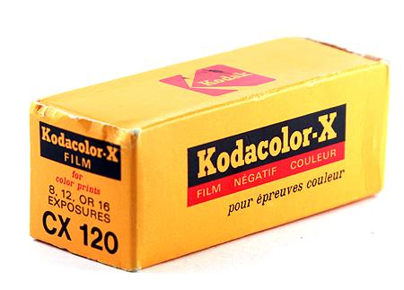Kodak Kodacolor-X CX 120