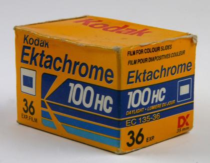 Kodak Ektachrome 100HC 135-36P