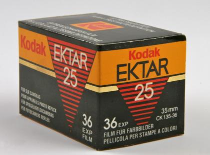 Kodak Ektar 25 135-36P