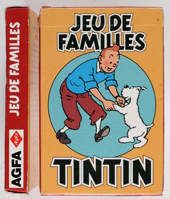 Agfa Jeu de familles Tintin