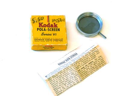 Kodak Pola-Screen series VI