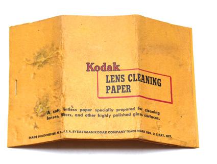 Kodak Lens Cleaning Paper