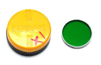 Kodak Wratten Filter X1 - Serie V