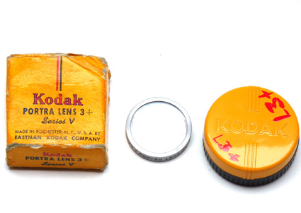 Kodak Portra Lens 3+ - serie V