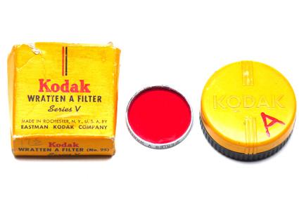 Kodak Wratten Filter A - Series V