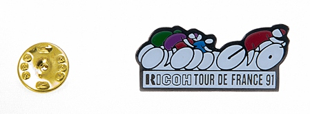 Ricoh Pin's Tour de France 91