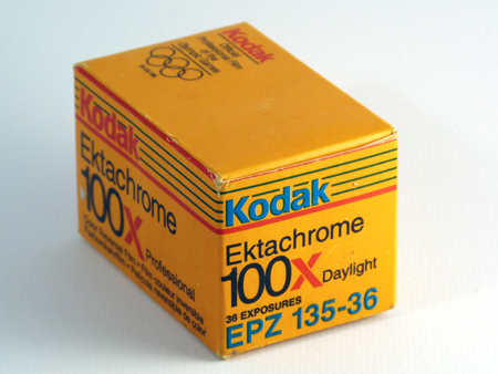 Kodak Ektachrome 100X Daylight Professional