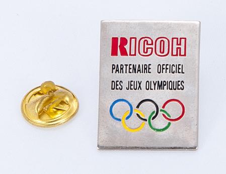 Ricoh Pin's partenaire officiel des JO