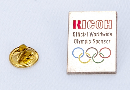 Ricoh Pin's Official Worldwide Olympic Sponsor