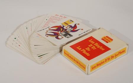 Kodak Jeu de cartes