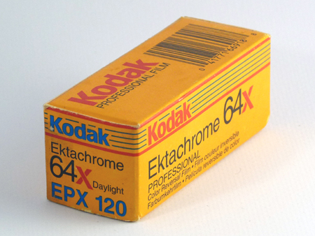 Kodak Ektachrome 64X Daylight Professional