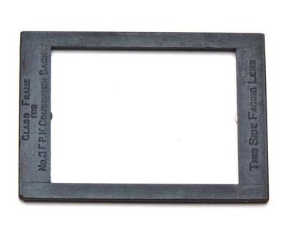 Kodak Glass Frame for N°3 F.P. Combination Back