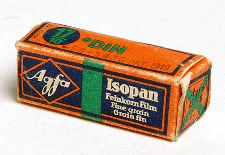 Agfa Isopan 127