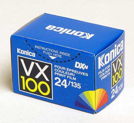 Konica VX100 135