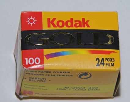 Kodak Gold 100