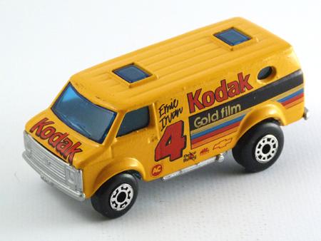 Matchbox Chevy van