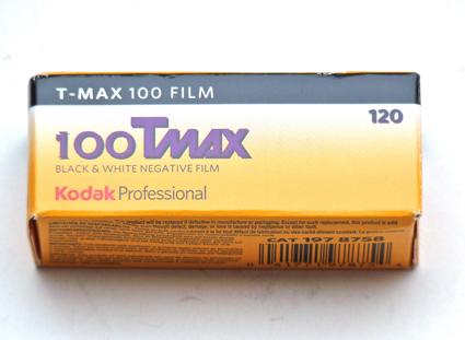 Kodak TMAX 100 Professionnal - 120