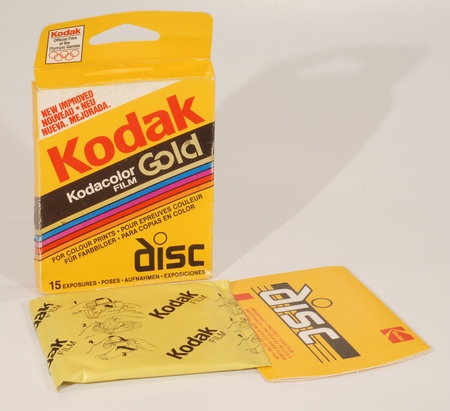 Kodak Kodacolor Gold (GDC Disc-15)