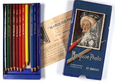 Marquise-Photo Crayons de couleur pour retouche