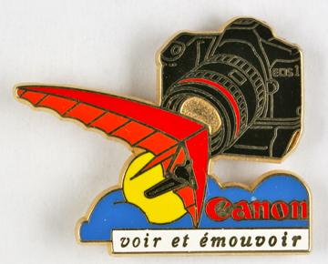 Canon Pin's EOS 1 voir et émouvoir