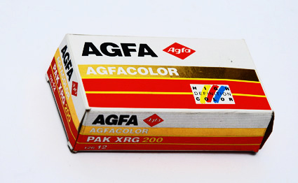 Agfa Agfacolor pak XRG 200