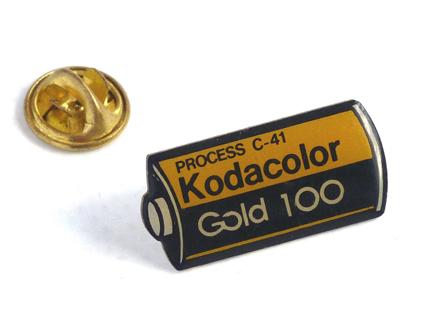 Kodak Pin's Kodacolor gold 100
