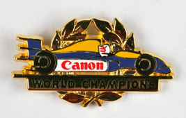 Canon Pin's formule 1