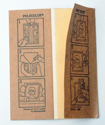 Polaroid Carton photo