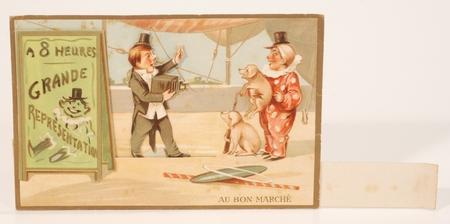 Au Bon Marché Carte publicitaire