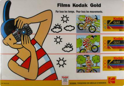 Kodak Tapis de comptoir Kodakette