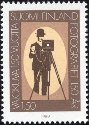 Poste Finlande 150 éme anniversaire de la photographie