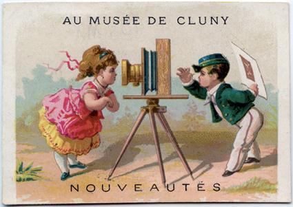 Au musée de Cluny Image publicitaire
