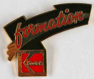 Kodak Pin's Formation