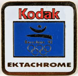 Kodak Kodak Pin's Ektachrome Barcelone 1992