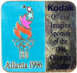 Kodak KODAK Pin's Atlanta 1996