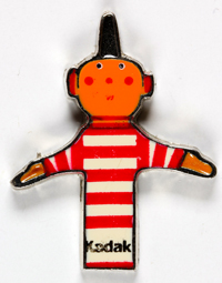 Kodak Kodak Pin's Kodaquette