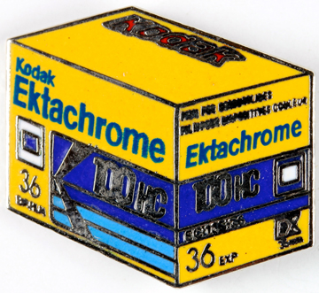 Kodak Pin's Ektachrome 100HC 135-36 Poses