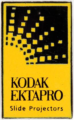 Kodak Pin's Ektapro Projecteurs diapositives